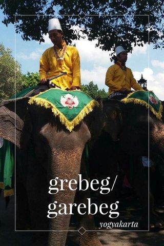grebeg/garebeg yogyakarta