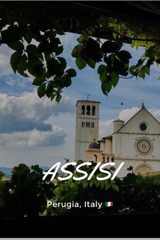 ASSISI Perugia, Italy 🇮🇹