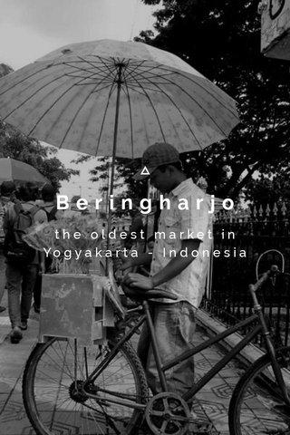 Beringharjo the oldest market in Yogyakarta - Indonesia