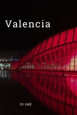 Valencia In red