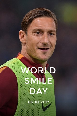WORLD SMILE DAY 06-10-2017