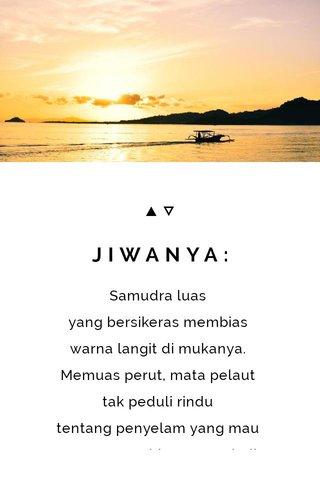 JIWANYA: