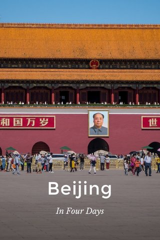 Beijing In Four Days