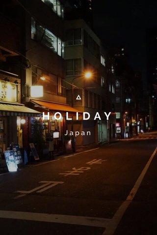 HOLIDAY Japan