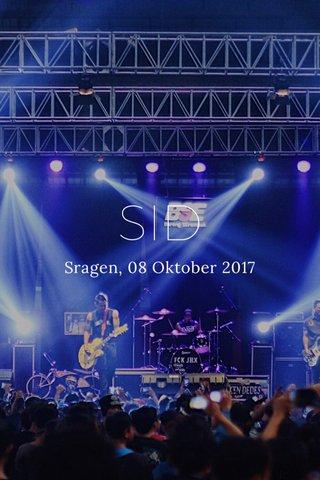 SID Sragen, 08 Oktober 2017