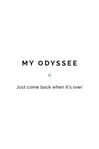 MY ODYSSEE
