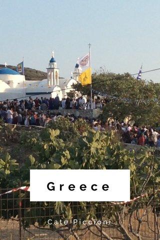 Greece Cate Piccioni