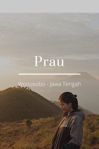 Prau Wonosobo - Jawa Tengah