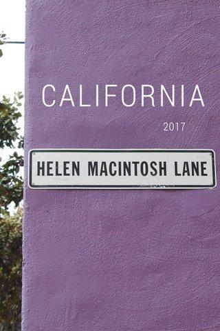 CALIFORNIA 2017