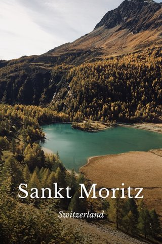 Sankt Moritz Switzerland