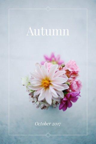Autumn October 2017