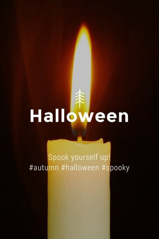 Halloween Spook yourself up! #autumn #halloween #spooky