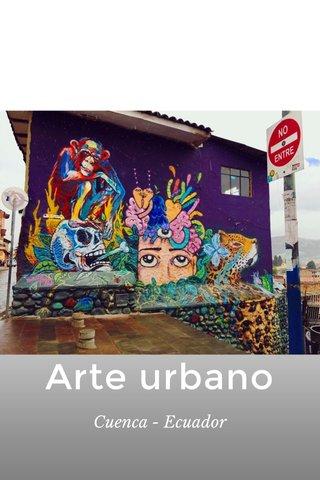 Arte urbano Cuenca - Ecuador