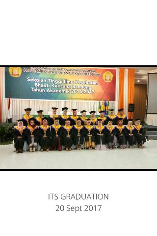 ITS GRADUATION 20 Sept 2017