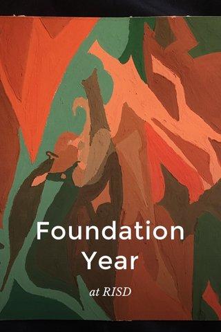 Foundation Year at RISD