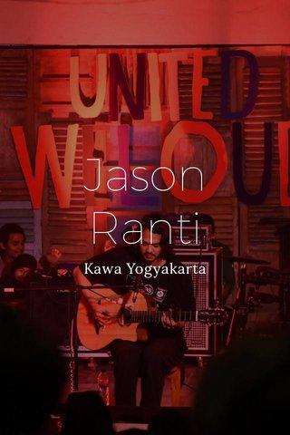 Jason Ranti Kawa Yogyakarta