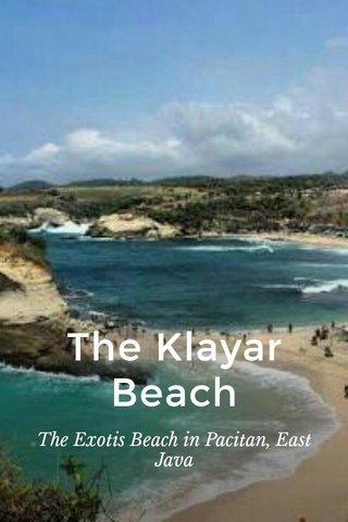 The Klayar Beach The Exotis Beach in Pacitan, East Java