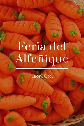 Feria del Alfeñique León, Gto.