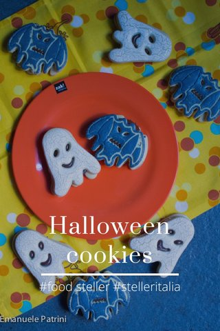 Halloween cookies #food steller #stelleritalia