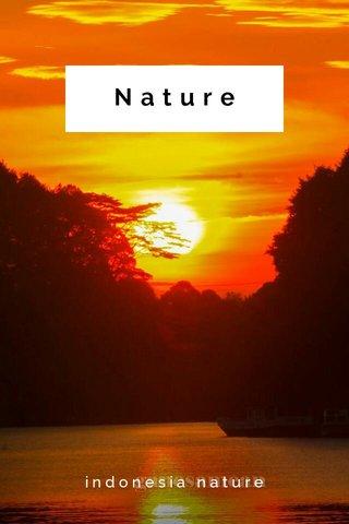 Nature indonesia nature