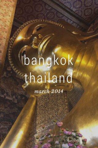 bangkok thailand march 2014