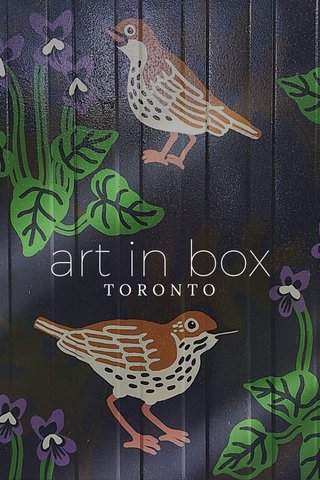 art in box TORONTO