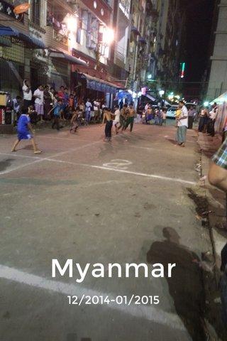 Myanmar 12/2014-01/2015