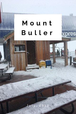 Mount Buller July, 2017