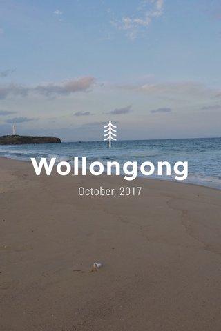Wollongong October, 2017