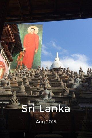 Sri Lanka Aug 2015
