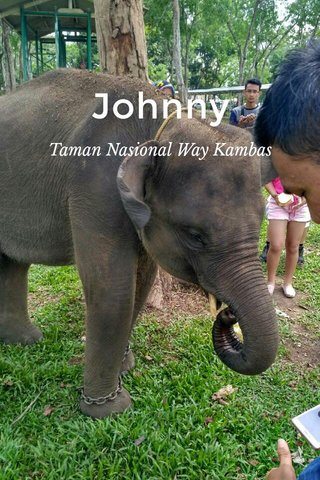 Johnny Taman Nasional Way Kambas