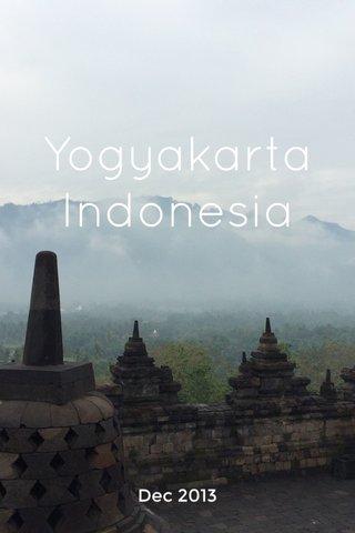 Yogyakarta Indonesia Dec 2013