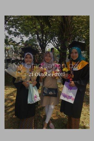 My Graduation day 21 Oktober 2017