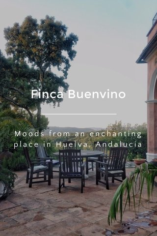 Finca Buenvino Moods from an enchanting place in Huelva, Andalucia