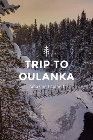 TRIP TO OULANKA Amazing Lapland