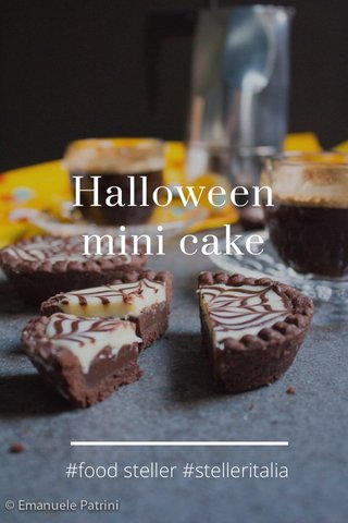 Halloween mini cake #food steller #stelleritalia