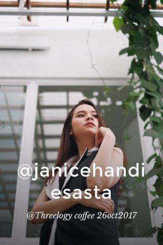 @janicehandiesasta @Threelogy coffee 26oct2017