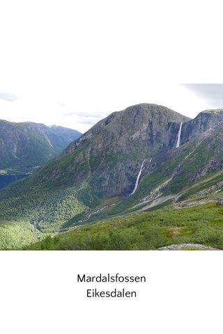 Mardalsfossen Eikesdalen