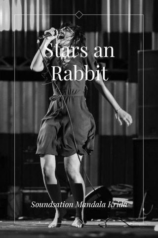 Stars an Rabbit Soundsation Mandala Krida