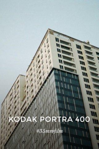 KODAK PORTRA 400 #35mmfilm