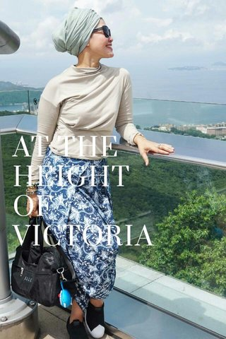 AT THE HEIGHT OF VICTORIA PEAK