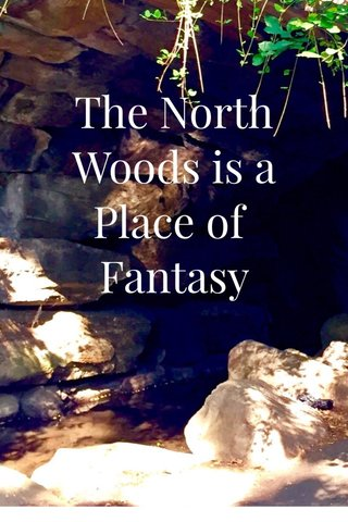 The North Woods is a Place of Fantasy