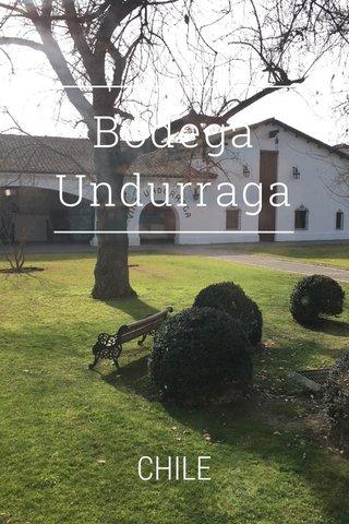 Bodega Undurraga CHILE