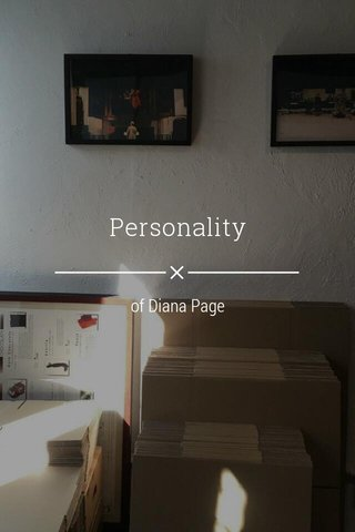Personality of Diana Page