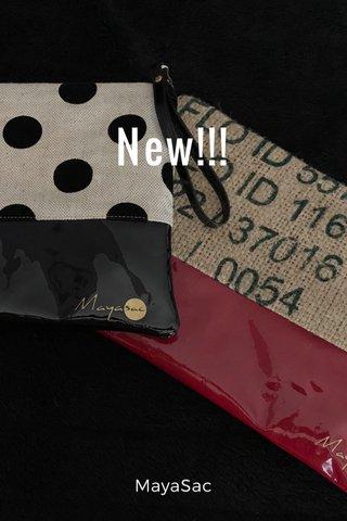 New!!! MayaSac