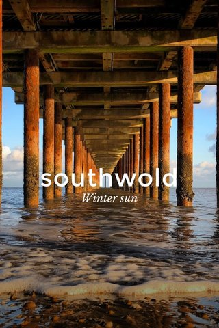southwold Winter sun