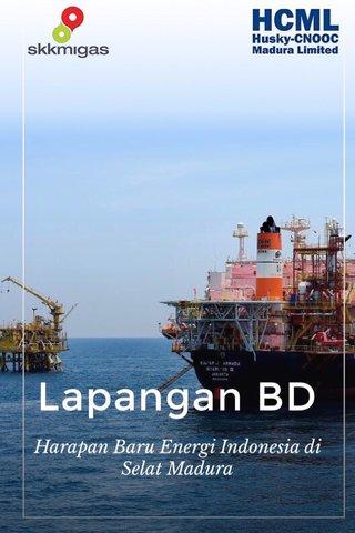 Lapangan BD Harapan Baru Energi Indonesia di Selat Madura