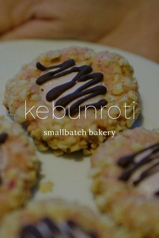 kebunroti smallbatch bakery
