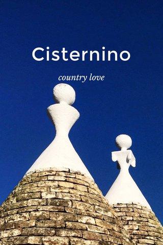 Cisternino country love