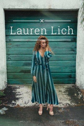 Lauren Lich